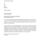 Free Farewell Email Template 21
