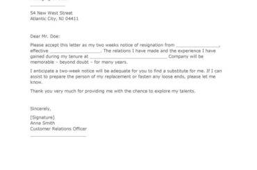Two Weeks Notice Letter 05
